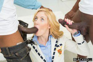 Blacked 2 Big Black Dicks for Rich White Girl Emily Kae with Charlie Mac & Prince Yahshua 5