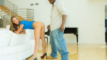Blacked Brunette Teen Marry Lynn vs BBC with Prince Yahshua 7