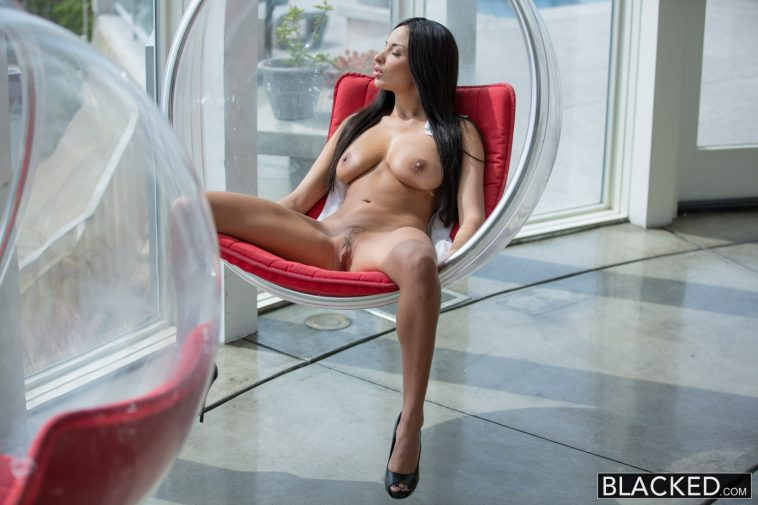 Blacked French Girl Anissa Kate Hot Interracial Anal sex with Prince Yahshua 3