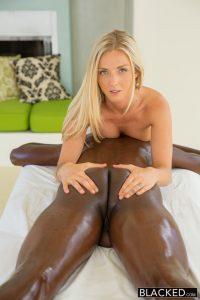 Blacked Karla Kush Beautiful blonde loves massaging BBC with Jason Brown 4