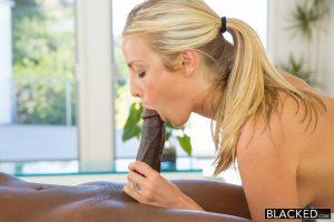 Blacked Karla Kush Beautiful blonde loves massaging BBC with Jason Brown 7