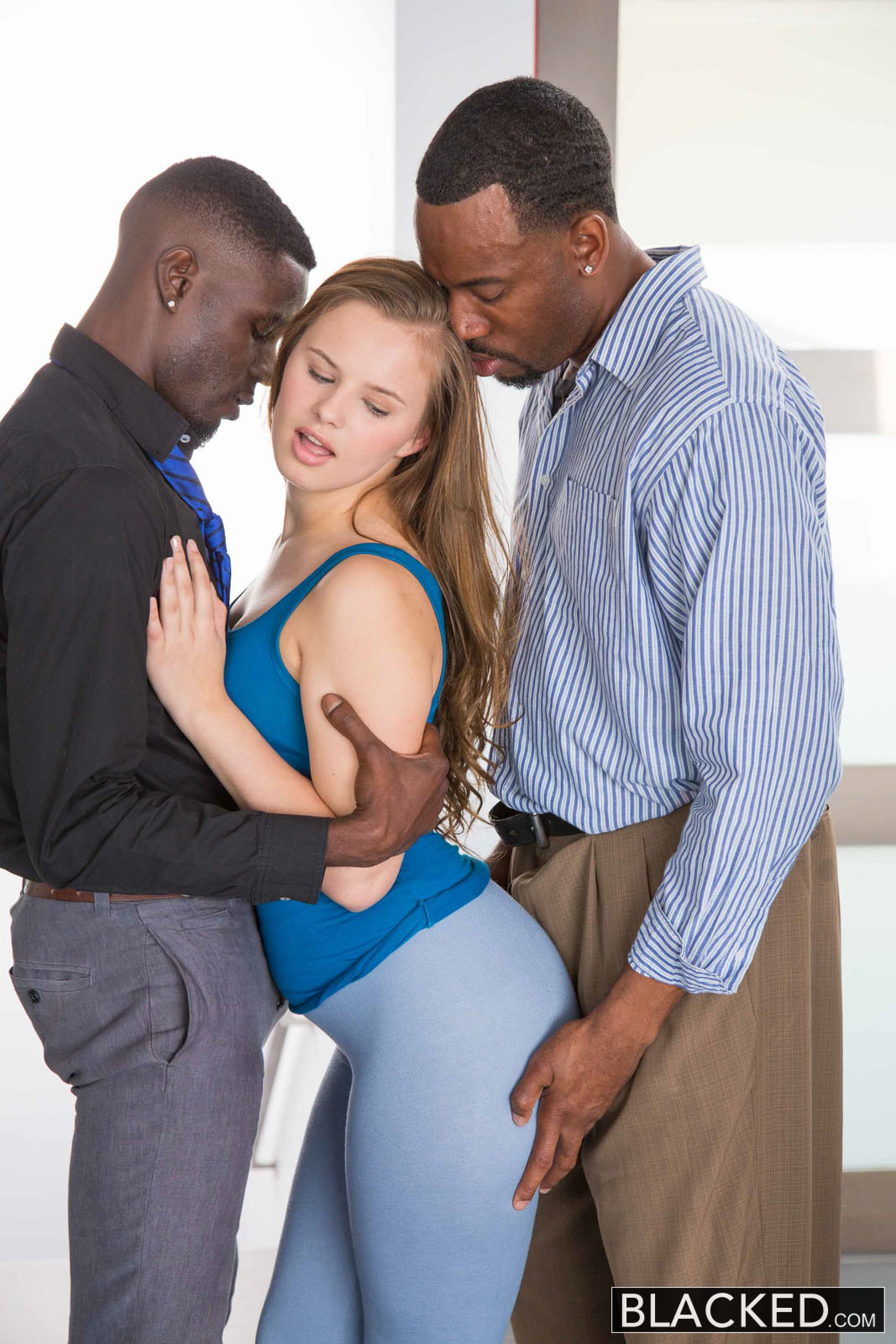 First Interracial Threesome Stories 37