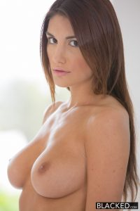 Blacked Real Model August Ames with Perfect Tits Loves Black Cock with Prince Yahshua 3