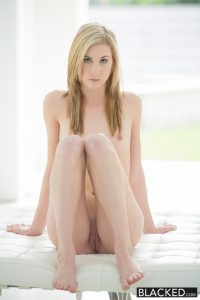 Blacked Skinny Blonde Teen Tysen Rich Stretched by Big Black Dick with Jason Brown 3