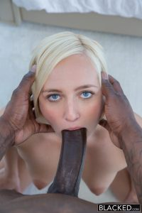 Blacked Kate England in Cheating Blonde Wife Fucks Husbands Black Friend with Rob Piper 7