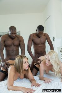 Blacked Cadence Lux & Adriana Chechik in My Friend and I Did Two Black Guys with Rob Piper & Jason Brown 12