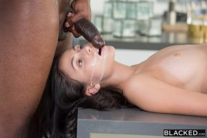 Blacked Ariana Marie in Famous Pop Star Loves BBC with  Flash Brown 15