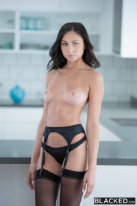 Blacked Ariana Marie in Famous Pop Star Loves BBC with  Flash Brown 4