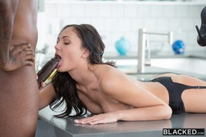 Blacked Ariana Marie in Famous Pop Star Loves BBC with  Flash Brown 7