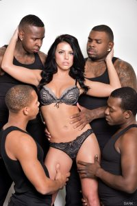 DarkX Adriana Chechik in Adriana's 1st IR Gangbang with Rico Strong, Ricky Johnson & Jon Jon 2