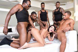 DarkX Adriana Chechik in Adriana's 1st IR Gangbang with Rico Strong, Ricky Johnson & Jon Jon 11