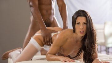 Blacked Alexa Tomas in Sexy Spanish Reporter Loves BBC with Isiah Maxwell 9