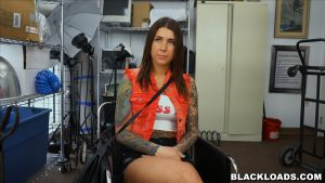 Black Loads - Pretty Rocker Chick Abused By a Big Black Dick 2