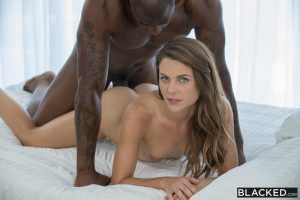 Blacked Ally Tate in Hot Naughty Sister Takes a BBC with Rob Piper 12