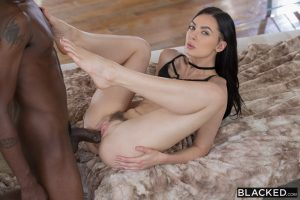 Blacked Marley Brinx in Sexy Model Loves Big Black Dick with Jason Brown 8