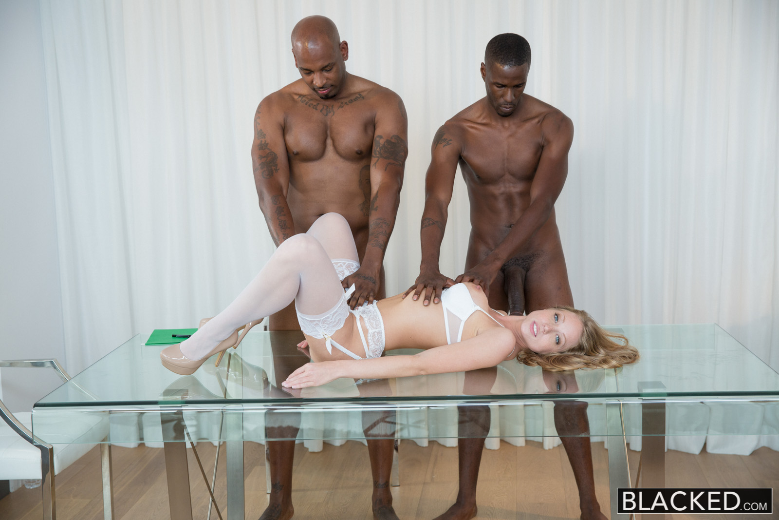 image August night blowjob hot black man fucks