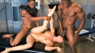 Blacks on Moms Cheri Deville auditions to be the team slut