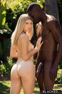 Blacked Arya Fae in Blonde Gets BBC from Brothers Friend with Jason Brown 12