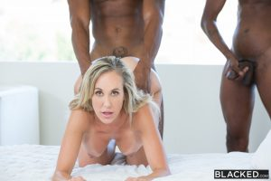 Blacked Brandi Love in Sexy Mom Takes 2 young BBCs with Isiah Maxwell & Jason Brown 14