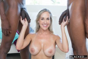 Blacked Brandi Love in Sexy Mom Takes 2 young BBCs with Isiah Maxwell & Jason Brown 15