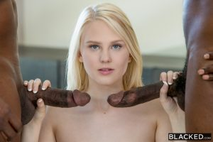 Blacked Lily Rader in Young Girl Tries Threesomes with Two BBC with Moe Johnson & Prince Yahshua 7