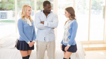 Blacked Dakota James & Riley Reid Two Teen Girls Share a Huge BB with Rob Piper 2