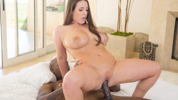 Blacked Big Natural Tits Australian Babe Angela White Fucks BBC with Flash Brown 12