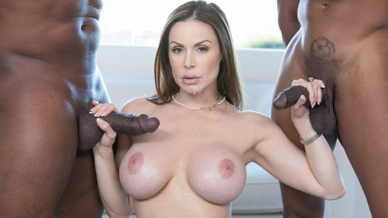Blacked Kendra Lust in Cheated on My Husband and Loved it with Isiah Maxwell & Prince Yahshua 13